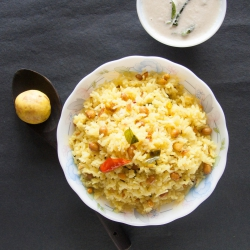 44: How to Make Lemon Rice Recipe - Includes a simple Leftover rice Tip