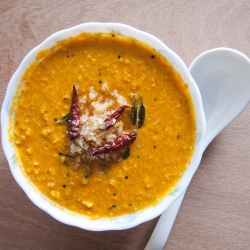 52: How to make Mathanga Erissery Recipe (Pumpkin Coconut Curry)