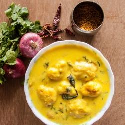 53: How to Make Kadi Pakoda Recipe - Curd Chickpea Curry