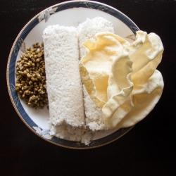 56: How to make Kerala Rice Puttu Recipe - Steamed Rice Flour Cake