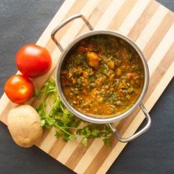 59: How to make Aloo Palak Recipe - Spiced Potato Spinach Recipe