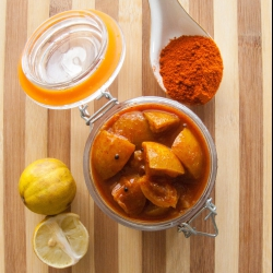 61: How to Make Lemon Pickle Recipe - Kerala Naranga Achar Recipe