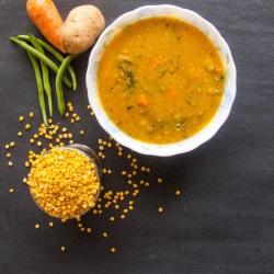 65: How to Make Instant South Indian Sambar Recipe for Masala Dosa