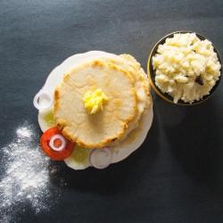 70: How to Make Rice Flour Roti Recipe - Chawal Ke Aate ki Roti