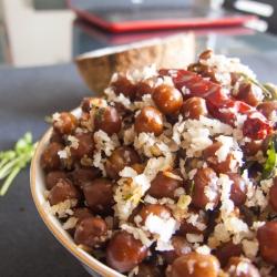 72: How to Make Kala Chana Sundal Recipe - Black Chic Pea Stir-fry