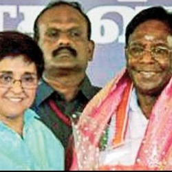 V Narayanasamy Sworn-in As Puducherry Chief Minister Stalin, Kiran Bedi
