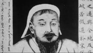 Chinese man jailed for stamping on Genghis Khan portrait