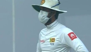 Sri Lankan cricketers 'right' to take a stand on smog