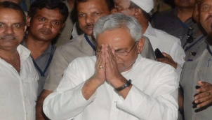 Nitish Kumar again sworn in as Bihar chief minister