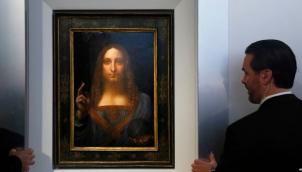 लियोनार्डो दा विंची की पेंटिंग अबू ढाबी | Da Vinci painting heads to Louvre Abu Dhabi