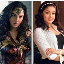 वंडर वुमन मिस यूनिवर्स प्रतियोगिता पर थीं | 'Wonder Woman' Gal Gadot competed in Miss Universe 2004 with the former Indian Beauty Tanushree Dutta