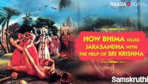 How Bhima Killed Jarasandha With The Help Of Sri Krishna