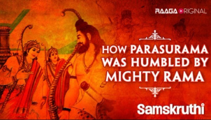 How Parasurama was humbled by Mighty Rama ?​