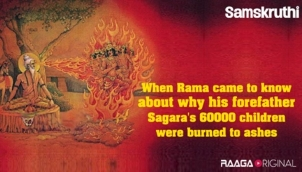 When Rama came to know about why his forefather Sagara's 60000 children were burned to ashes