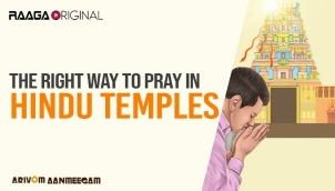 The right way to pray in Hindu Temples