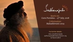 Sadhanapada at Isha Yoga Center | July 2018 – March 2019