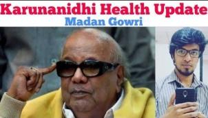 Karunanidhi Health Update