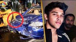Vikram's Son Dhruv Arrested for Car Accident? | Hot Tamil Cinema News