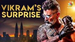 Kadaram Kondan : Vikram's SURPRISE Look   Rajesh M Selva Reveals   Akshara Haasan