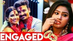 மைனா நந்தினிக்கு நிச்சயதார்த்தம்   Myna Nandhini Engaged with Yogesh   Aranmanai Kili   Nayagi