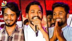 Maanavan : Hip Hop Tamizha Aadhi's Sensational Speech | Madhan Gowri | Eruma Saani Vijay