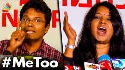 I'm Ashamed of being a man : Susi Ganesan against Leena Manimekalai   Sexual Harassment, Me Too