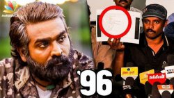 PROOF : 96 is a Stolen Story | Filmmaker Suresh Speech | Vijay Sethupathi Movie