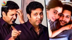I'm Sorry ! My Wife Aarthi Apologised for the First Time : Jayam Ravi Funny Speech   Adanga Maru