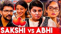 பிரச்சனை இருக்கு : Jennifer about Kavin, Sakshi Agarwal Love Bigg Boss Tamil - Season 3   Abhirami