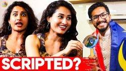 Is Bigg Boss scripted? : SS Music Pooja Ramachandran Interview   90's Kids Relationship   Mugen Rao