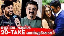 Kushboo முன்னாடி Romance வரல | Sundar C Speech at Iruttu Movie Press Meet | VTV Ganesh, Vimala Raman
