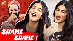 I'm a Drama Queen! : Shruti Haasan Interview   Vijay Sethupathi, Kamal, Laabam, Arivum Anbum song