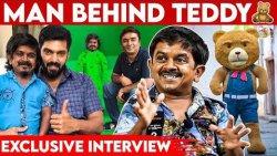 Thalapathy Vijay கூட நடிச்ச Scene வரல | Real Man Behind Teddy Revealed | Gokul, Arya, Sayeesha