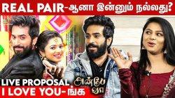 Romance Scenes Enjoy பண்ணி பண்ணுவோம்: Viraat & Delna Fun Interview   Anbe Vaa Serial, Sun TV
