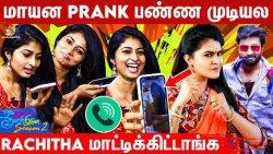Vijay Tv Rachitha ultimate Prank video   Sathya & Vaishnavi Fun Video   Naam iruvar Namaku Iruvar