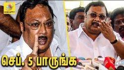 நாள் குறித்த அழகிரியின் திட்டம் என்ன ? : Alagiri marks September 5 to threaten DMK Stalin