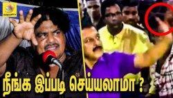 செல்ஃபி எடுத்தது தவறா ? Mansoor Ali Khan Angry Speech | Mansoor Ali Khan Speech